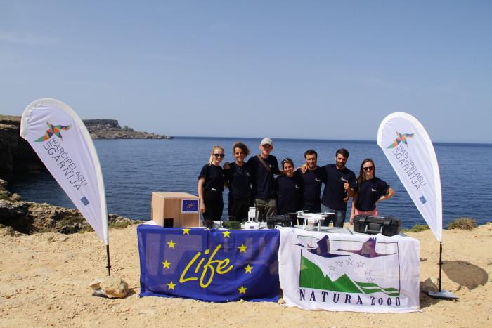 8 LIFE Arcipelagu Garnija Launch Presser