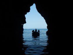 Cave and RIB P.Lago