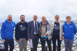 air pollution ships malta birdlife