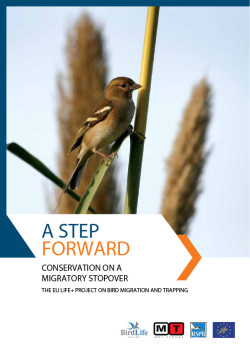 Bird Migration and trapping Layman's report - front cover image