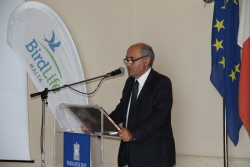 Minister Josè Herrera addressing the conference