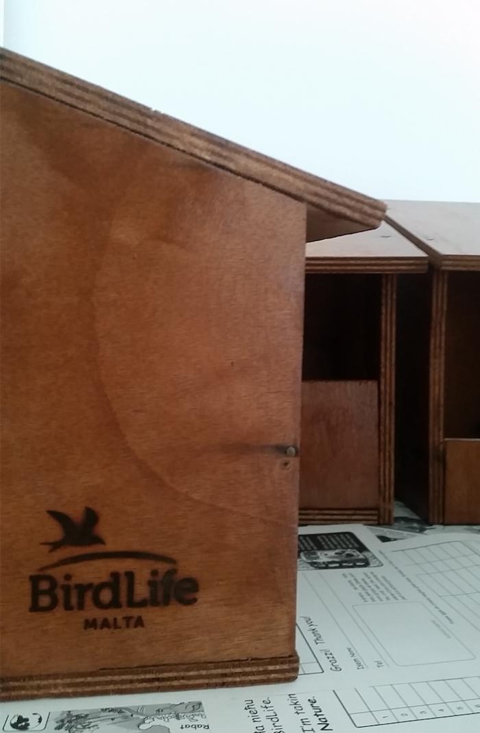 Spotted Flycatcher nest box